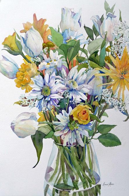 Spring Bouquet 22x14