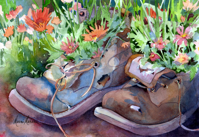 Boot Garden 1 10x14