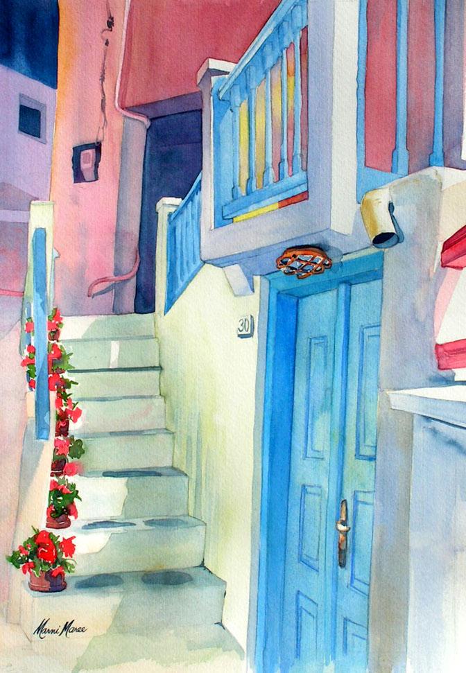 Blue Door Mykonos