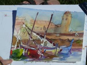 Collioure Catalan Fishing Boats