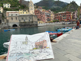International drawing and sketching workshops