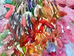 Seed Bouquet watercolor